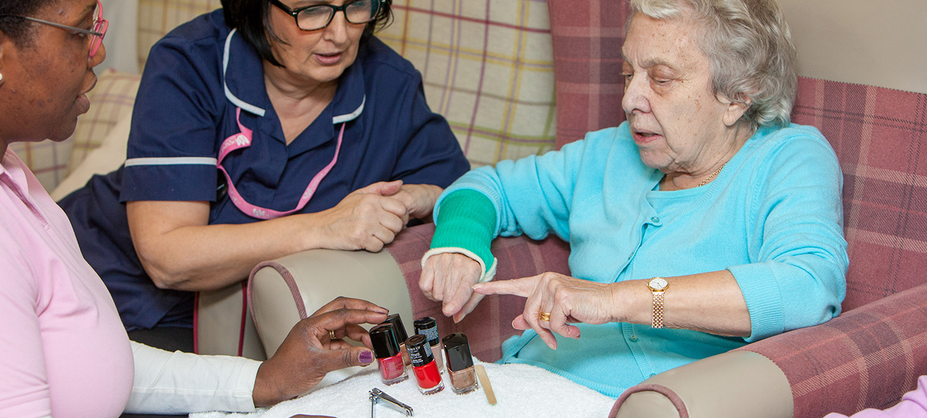 Activities at our Wessex Care Residential Care Homes
