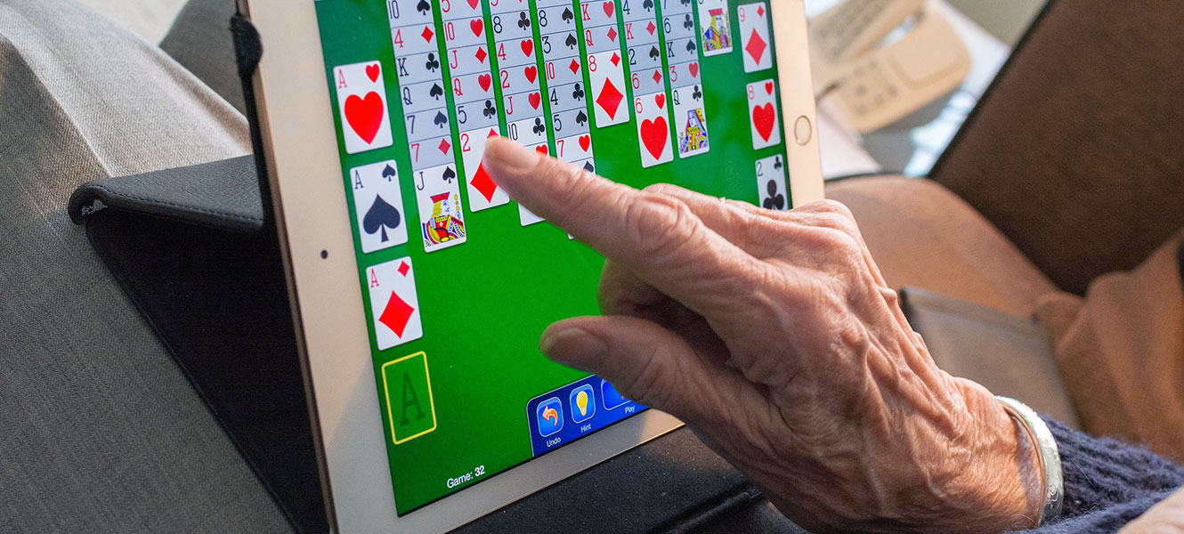 How iPad Technology is Helping Our Residents