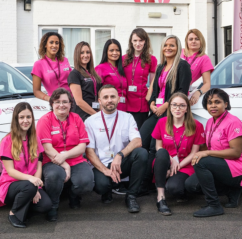 Wessex Care team offering Community Services